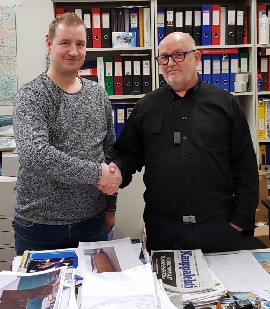 Timo Kangasoja Terästyö JK & JK Oy:n toimitusjohtajaksi.